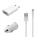 3-in-1 opladerset Lightning