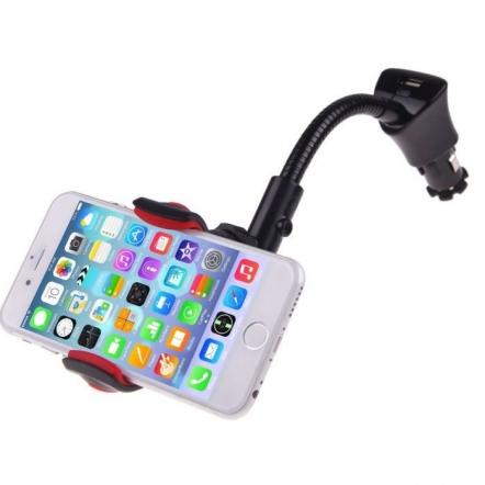 iPhone autohouder sigarettenaansteker met USB poort