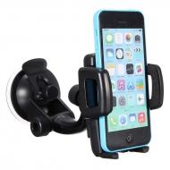 iPhone autohouder met sterke zuignap