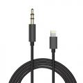 Lightning naar 3,5 mm jack aux audio kabel 1,5 meter