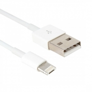 2 in 1 kabel - micro USB en Lightning - 1 meter