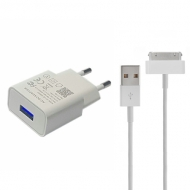 iPad oplader compact 30-pins 1 meter wit