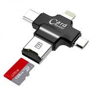 4 in 1 micro SD kaartlezer
