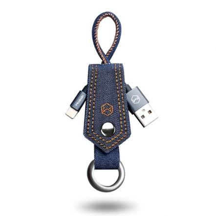 Mcdodo sleutelhanger met jeans Lightning kabel