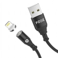 PZOZ Lightning kabel 1 meter met magnetische aansluiting