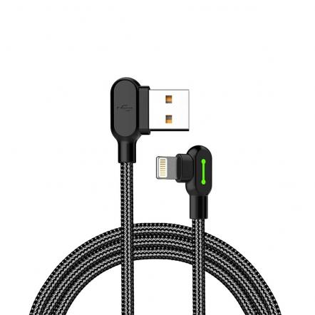 Mcdodo nylon haakse Lightning kabel 50 centimeter