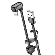 Rock 180º Lightning naar USB kabel 1 meter