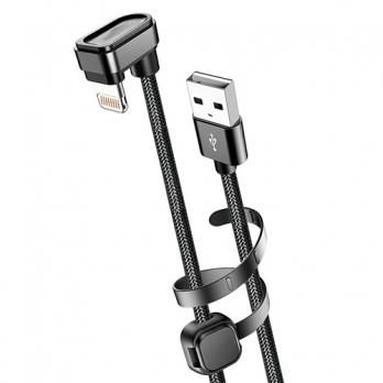 Kuulaa 180º Lightning naar USB kabel 2 meter
