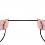Haakse Lightning kabel 2 meter met magnetische aansluiting