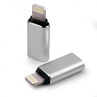 USB-C naar Lightning adapter grijs